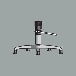Основание парикмахерского кресла UT-76
