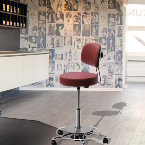 Рабочие стульчики Greiner мастера салона красоты